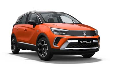 Vauxhall Crossland - Available In Power Orange