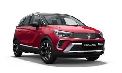 Vauxhall Crossland - Available In Hot Red