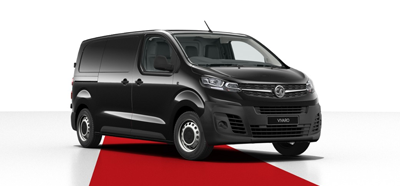 Vauxhall Vivaro - Available in Diamond Black