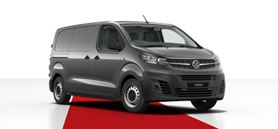 Vauxhall Vivaro - Available in Moonstone Grey
