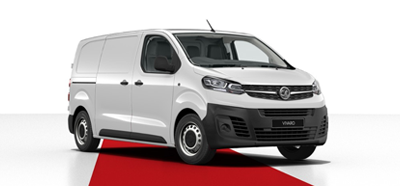 Vauxhall Vivaro - Available in White Jade